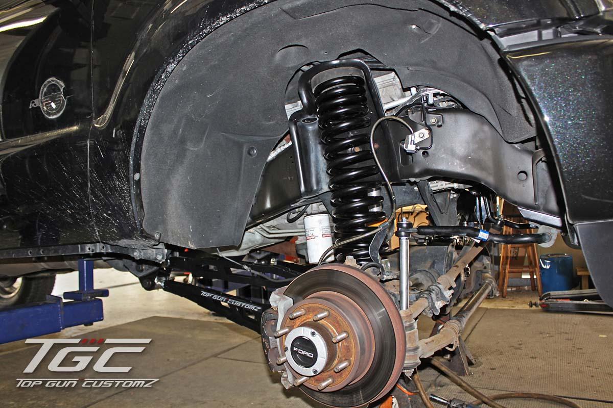 Customer build day 2 2011 ford f250 super duty w 6 tgc