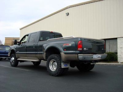 Lift Kit on an 05 F350 Dually