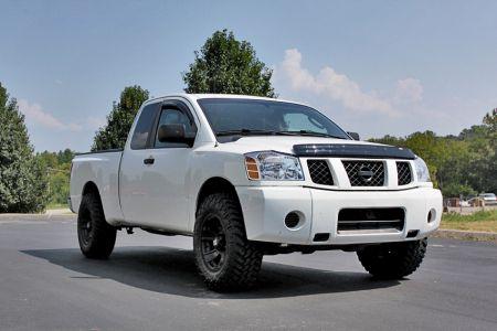 top gun customz truck gallery titan 2005 nissan titan w. Black Bedroom Furniture Sets. Home Design Ideas